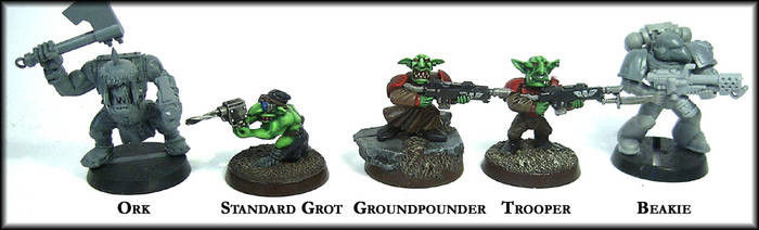 Grot Size Line Up by Proiteus