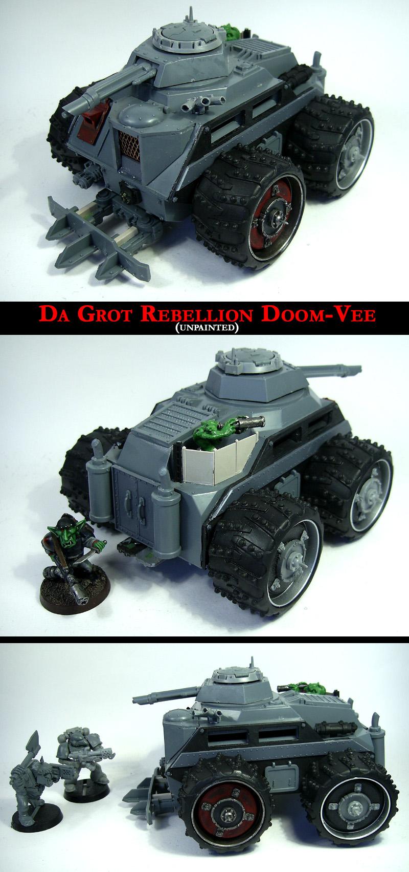 Da Grot Doom-Vee: Unpainted by Proiteus