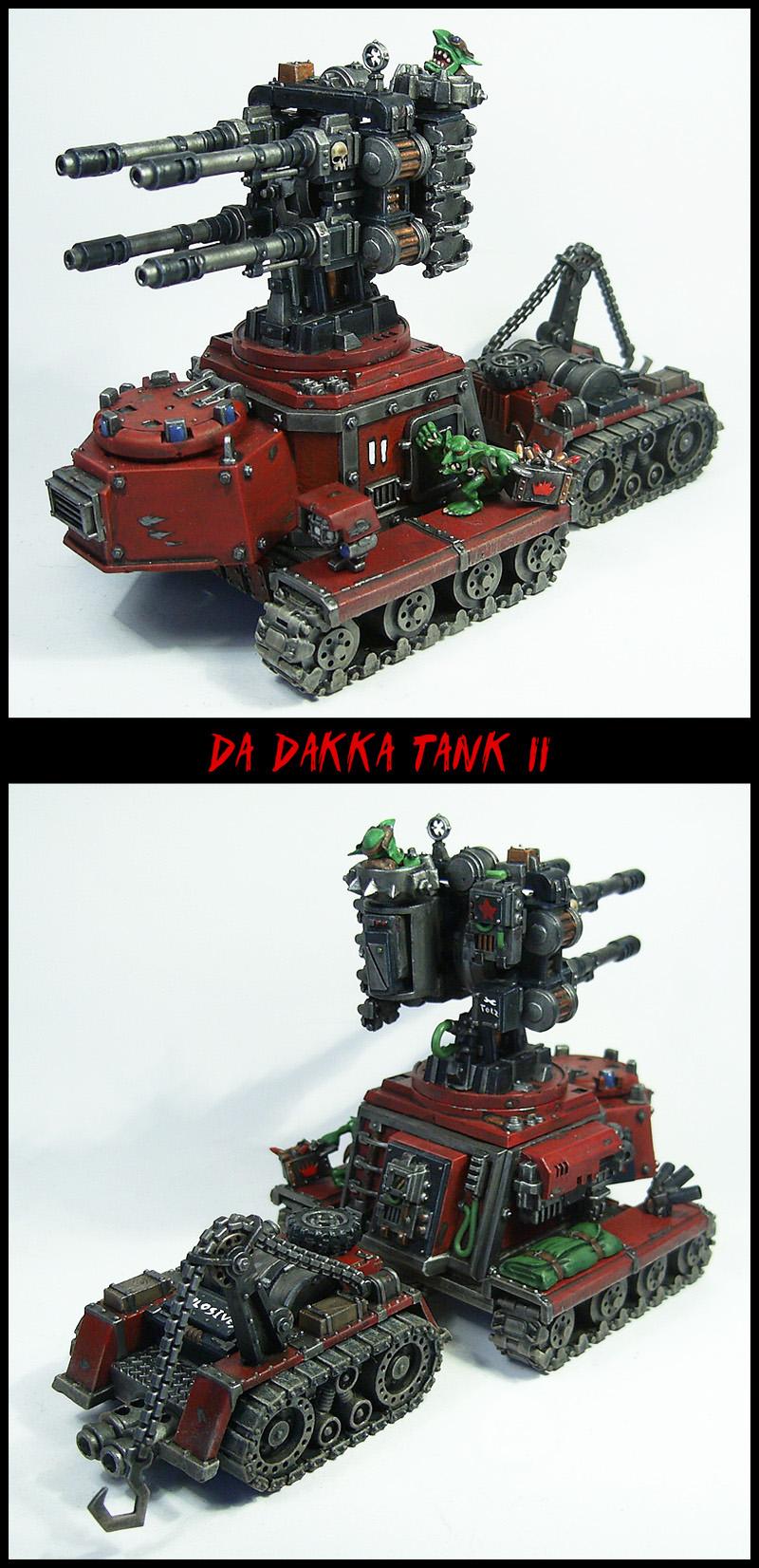 Grot Dakka Tank II by Proiteus