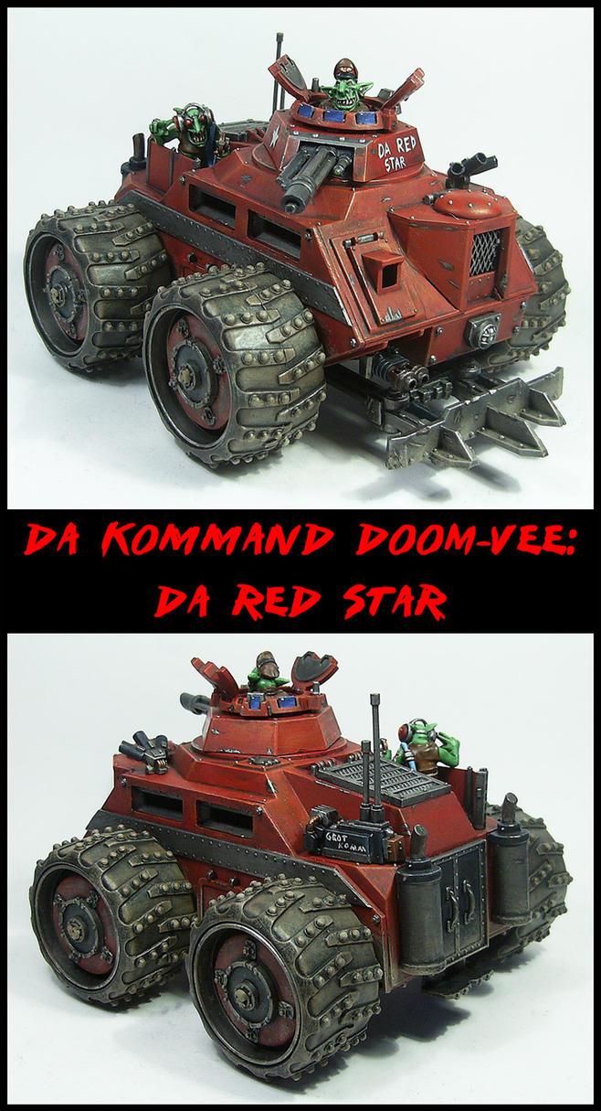 Kommand Doom-Vee: Da Red Star by Proiteus