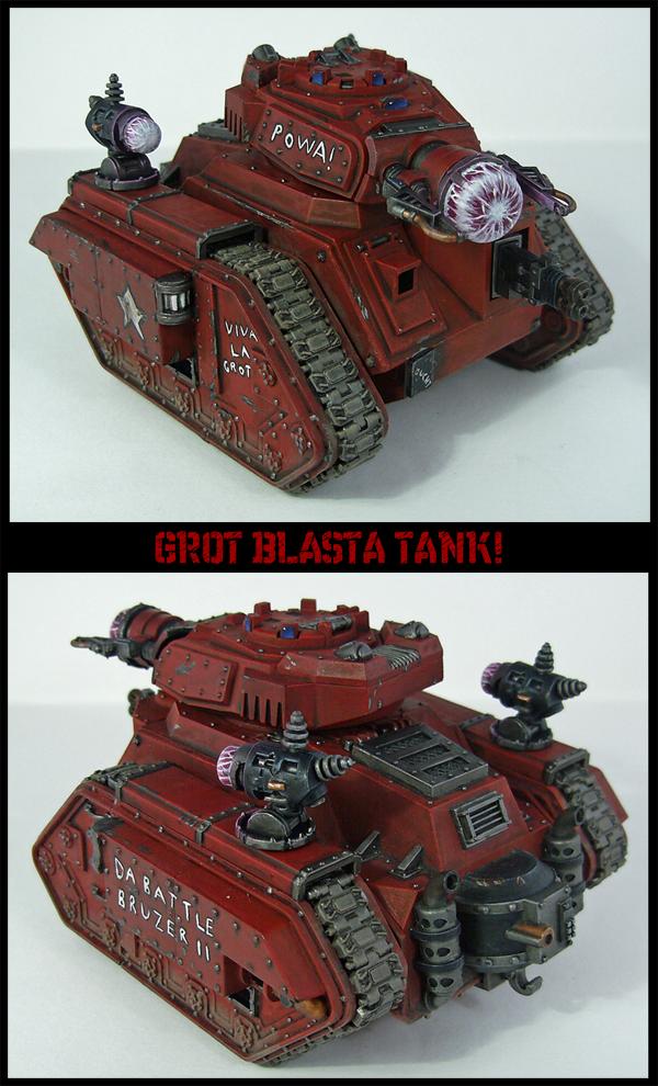 Grot Blasta Tank by Proiteus