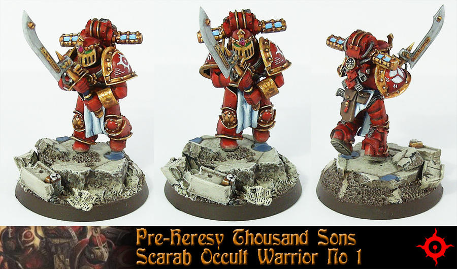 Pre-Heresy Thousand Son No.1 by Proiteus