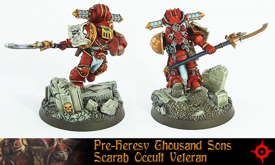 Pre-Heresy Thousand Son Vet by Proiteus