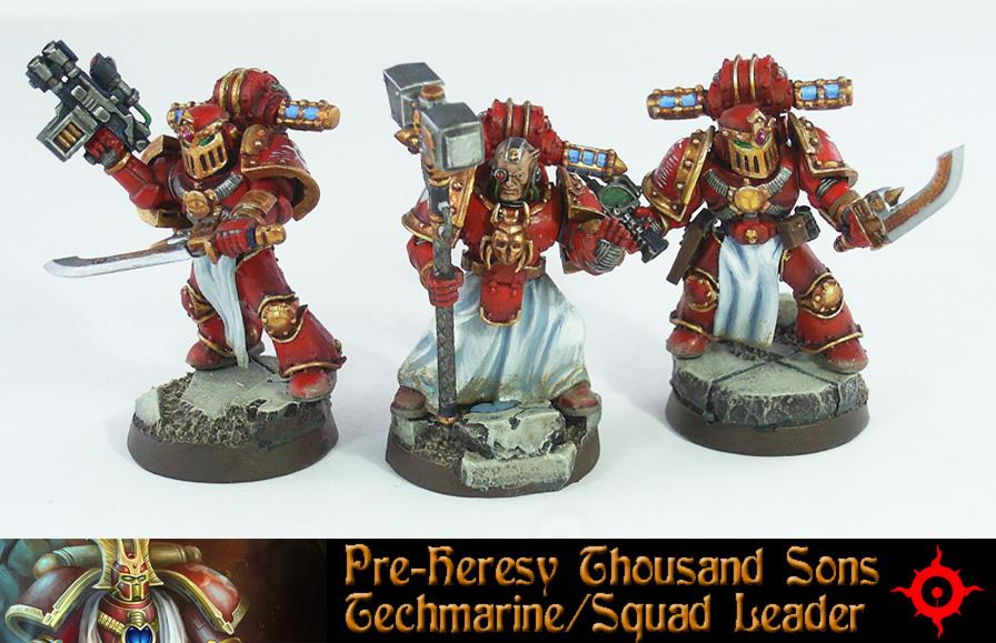 Pre-Heresy Thousand Sons Techmarine by Proiteus