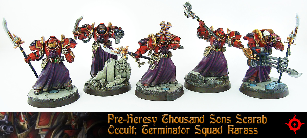 PH Scarab Occult Terminator Squad 1 by Proiteus