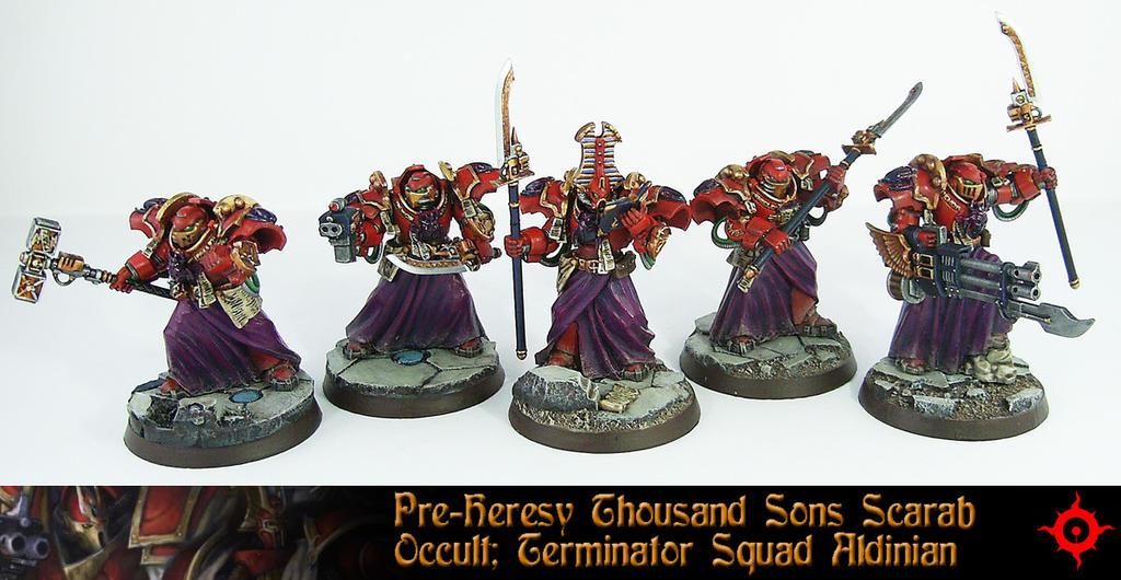 PH Scarab Occult Terminator Squad 2 by Proiteus