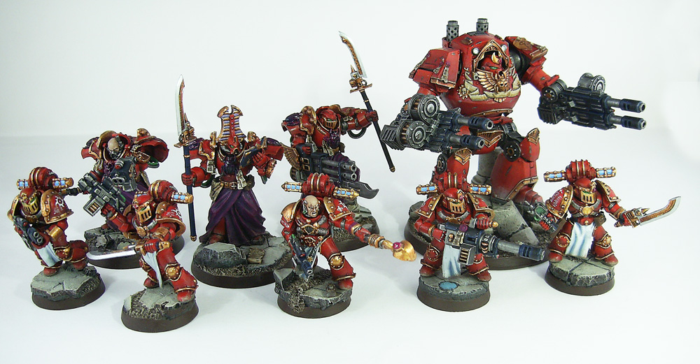 Pre-Heresy Thousand Sons by Proiteus