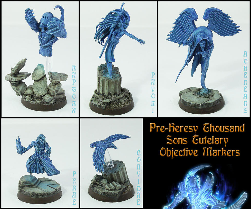Thousand Sons Tutelary Objectives by Proiteus