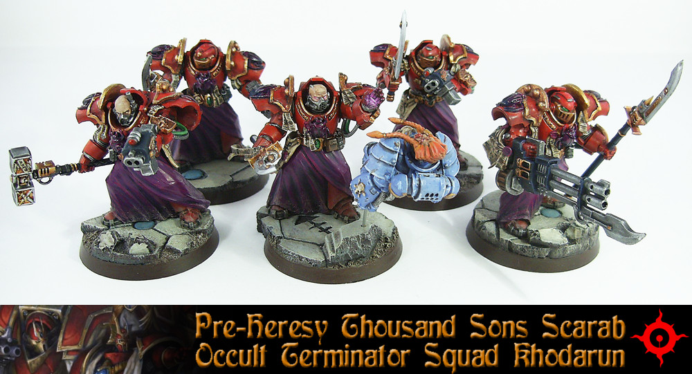 PH Scarab Occult Terminator Squad 3 by Proiteus