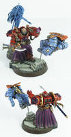 Pre-Heresy Thousand Sons Sorcerer