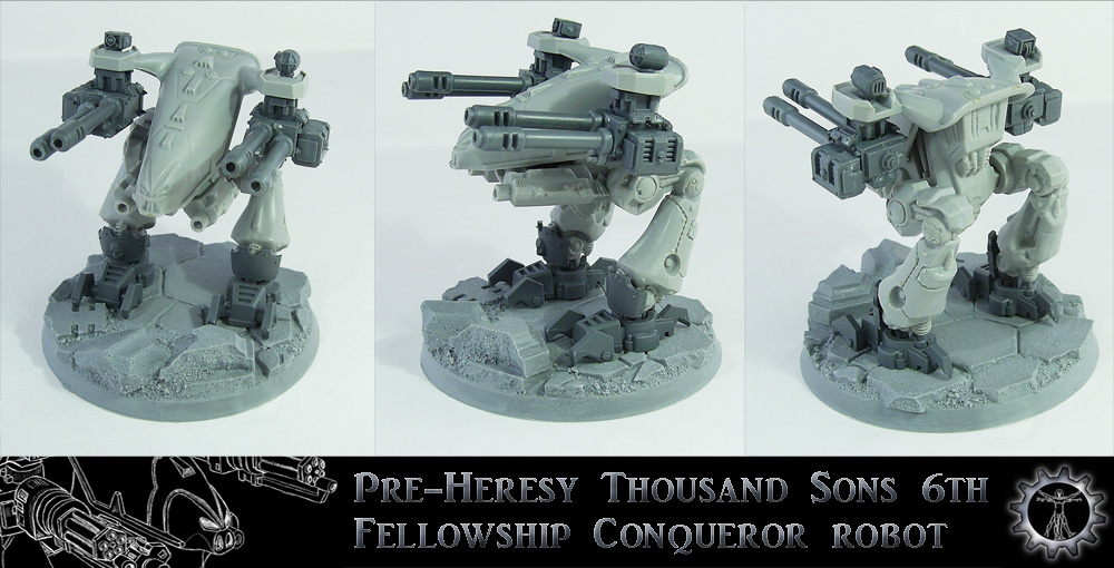 PH Thousand Sons Conqueror Robot UP by Proiteus
