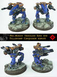 PH Thousand Sons Conqueror Robots by Proiteus