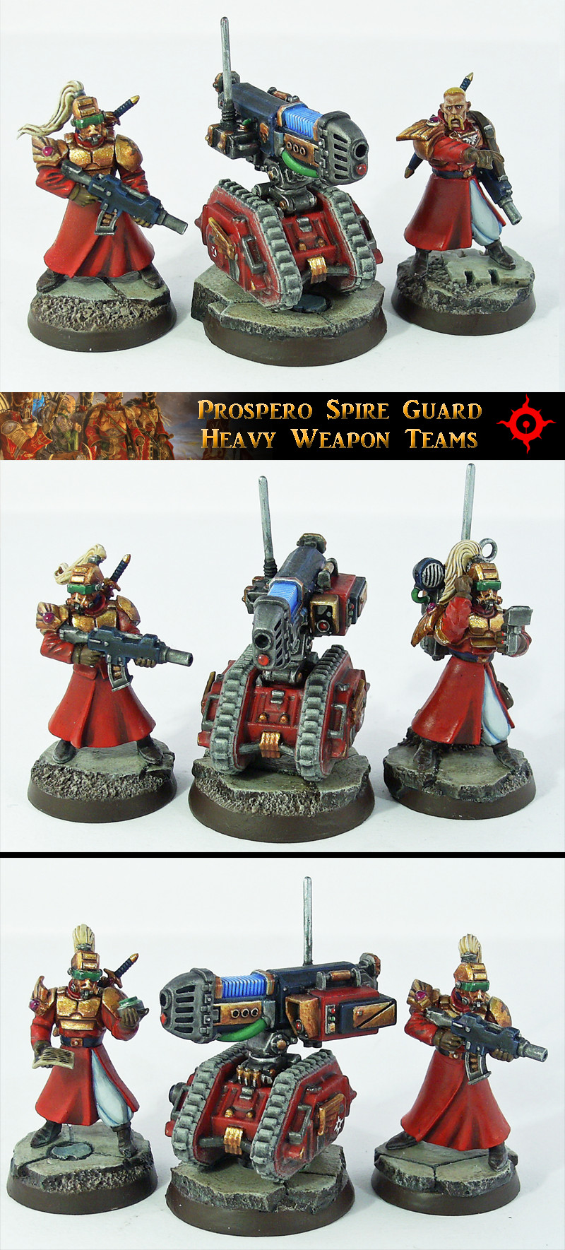 Prospero Spire Guard Heavy Weapon Teams by Proiteus
