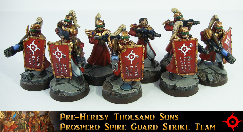 Prospero Spire Guard Strike Team by Proiteus
