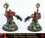Thousand Sons Pyrae Techmarine