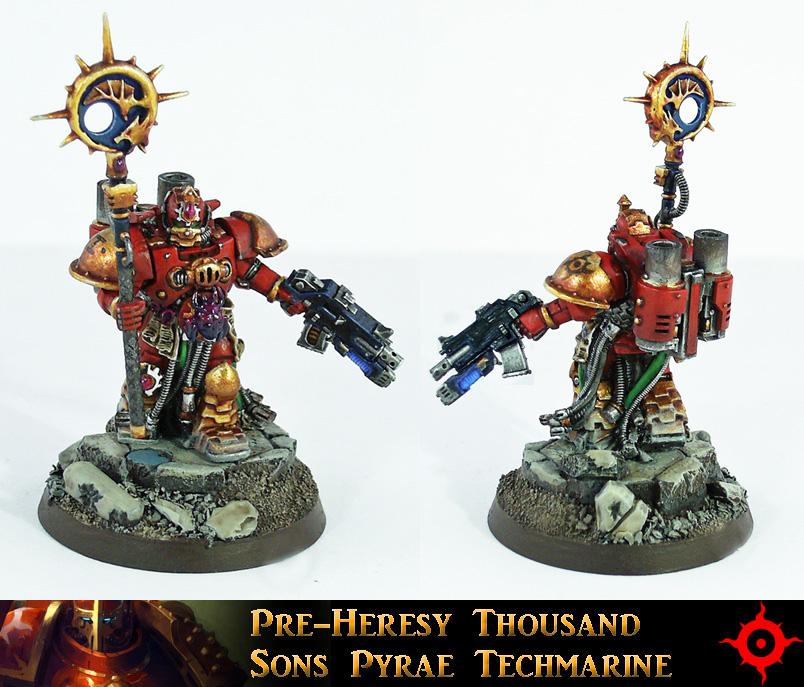 Thousand Sons Pyrae Techmarine by Proiteus