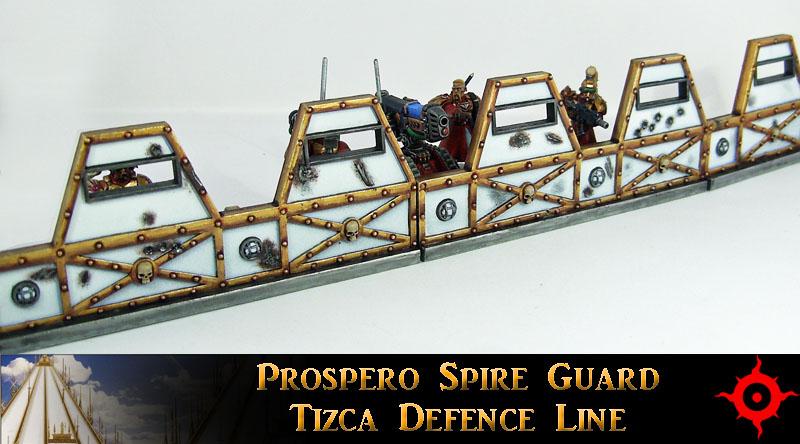 Prospero Spire Guard Defence Line by Proiteus