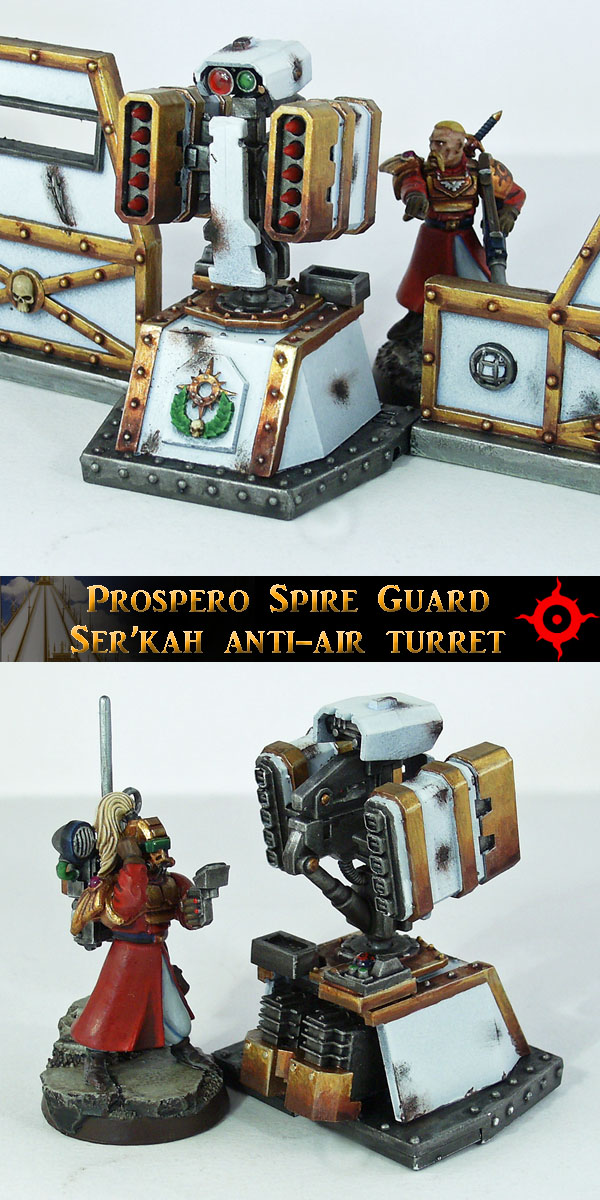 Spire Guard Anti-Air Turret by Proiteus