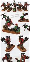 Ork Botz Squad (Nob Bikers)