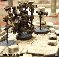 40k Tech Priest Miniature by Proiteus