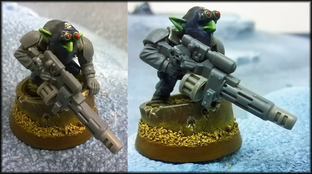 Grot Vindicare In The Works by Proiteus