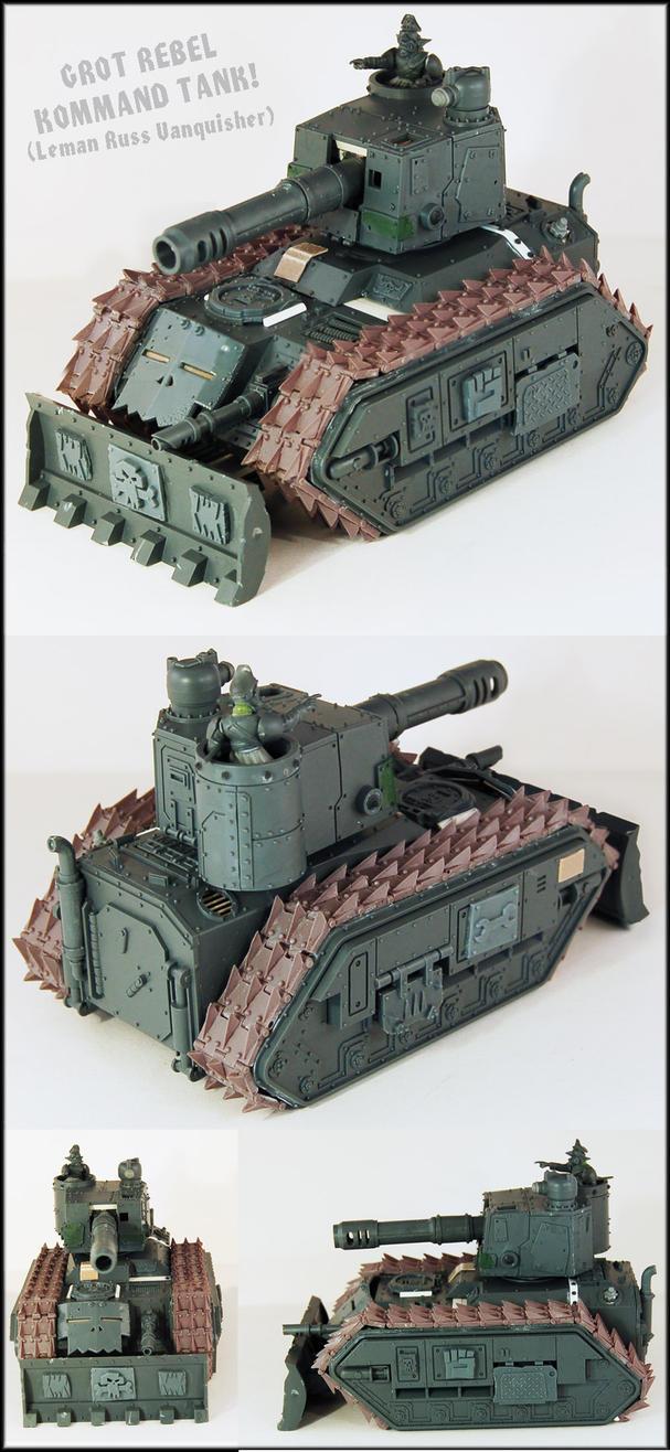 Grot Rebel Kommand Tank UP by Proiteus