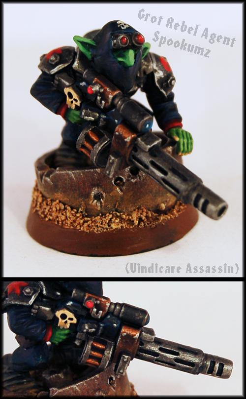 Agent Spookumz (Grot Vindicare) by Proiteus