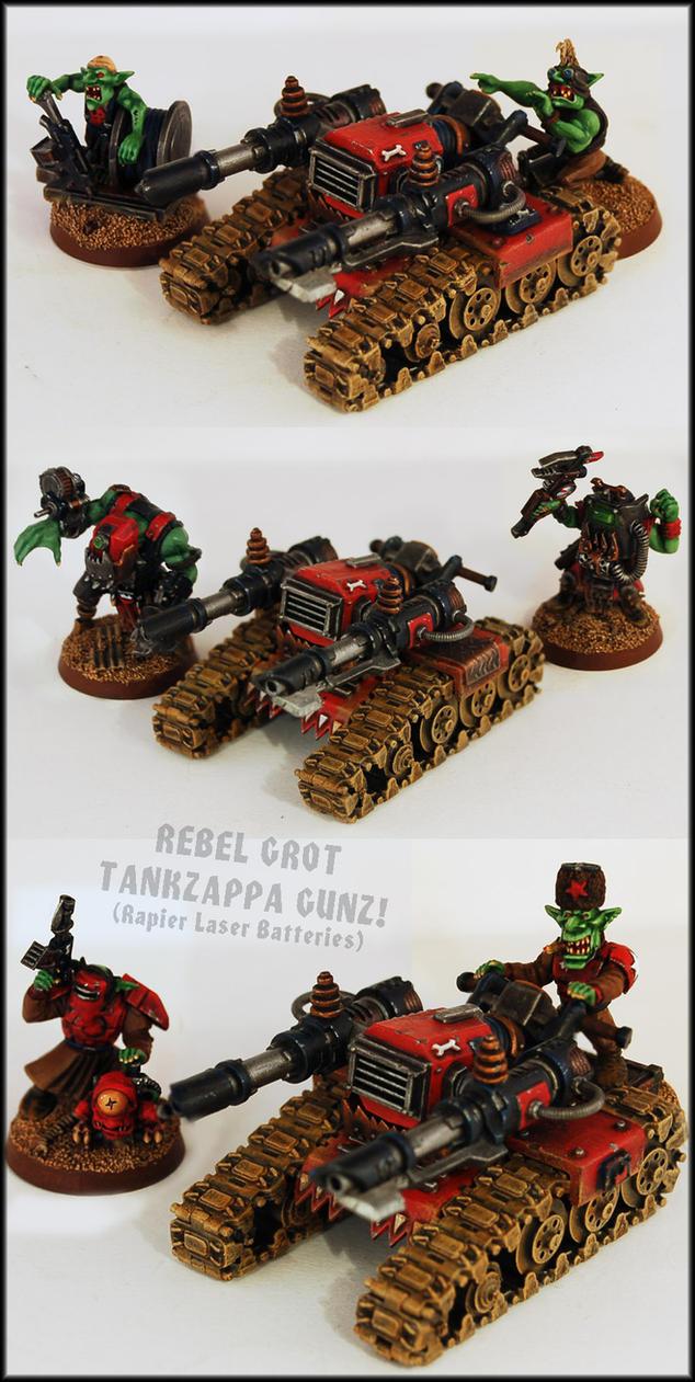 Rebel Grot Tankzappaz (Rapier Laser Batteries) by Proiteus