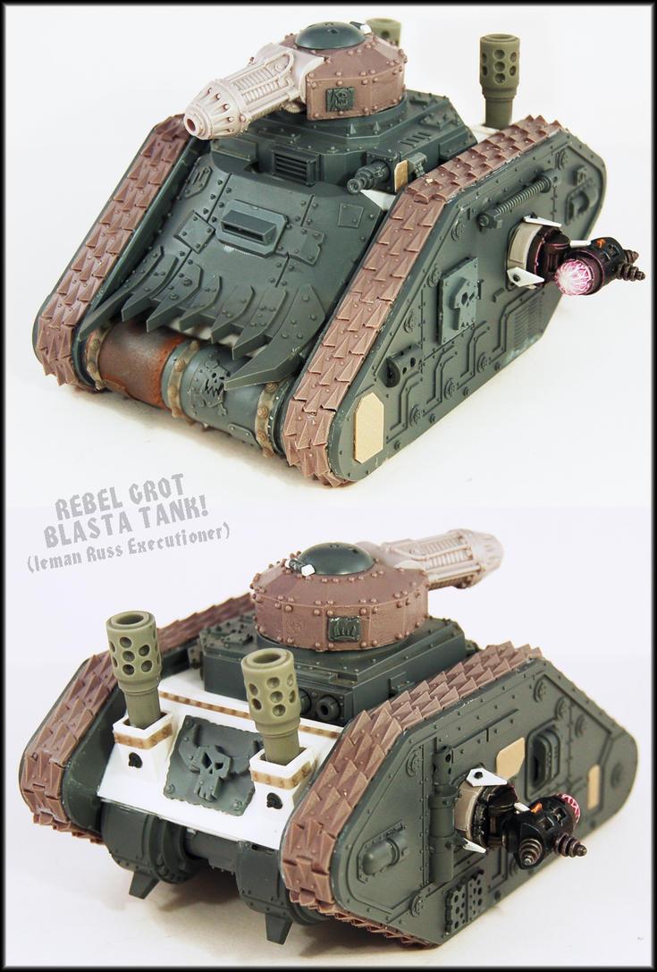 Rebel Grot Blasta Tank UP by Proiteus