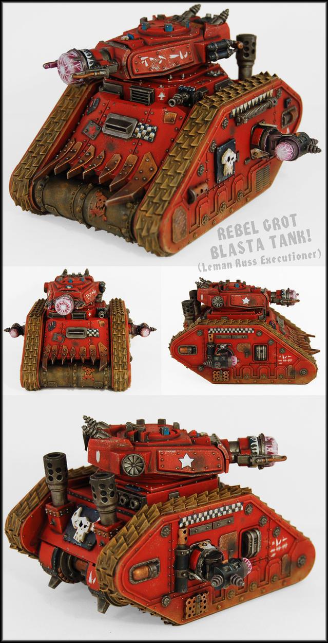 Blasta Tank Mk2 by Proiteus
