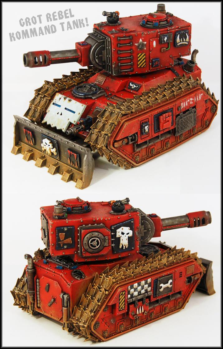 Grot Rebel Bonebreaka Kommand Tank by Proiteus