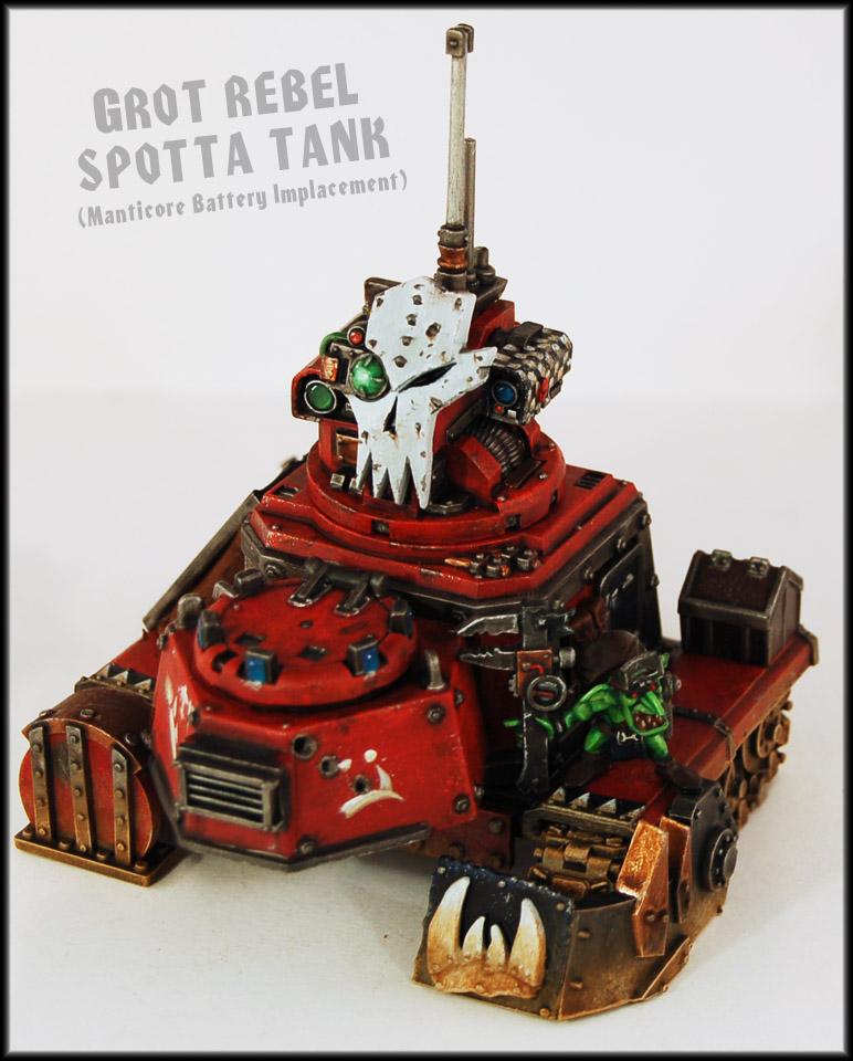 Grot Rebel Spotta Tank by Proiteus