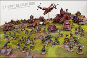 Da Grot Revolution Army by Proiteus