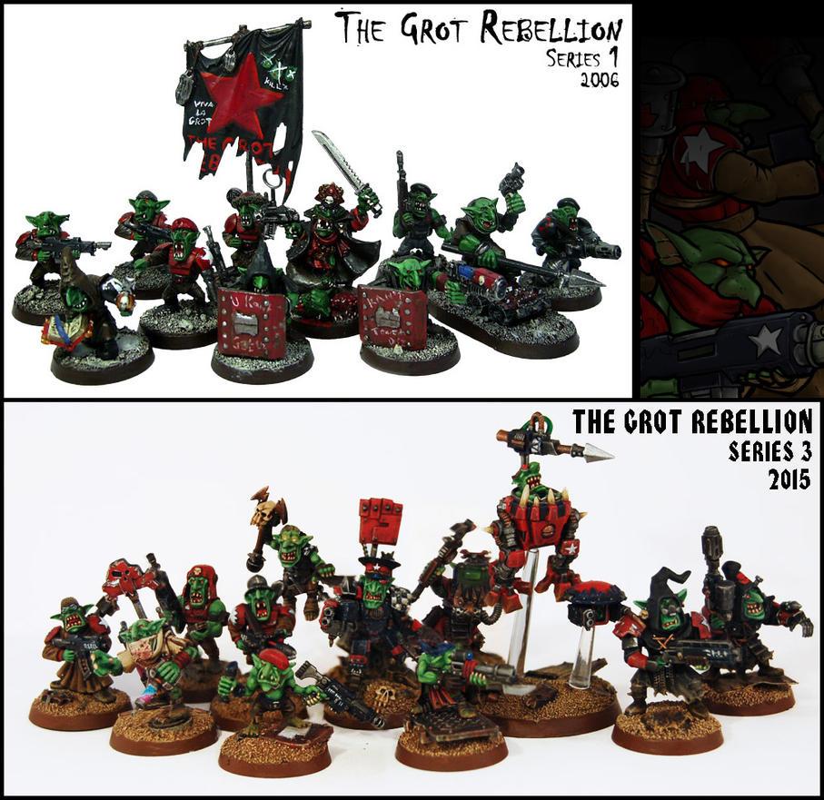 Grot Rebelz - 9 Years Of Progress by Proiteus