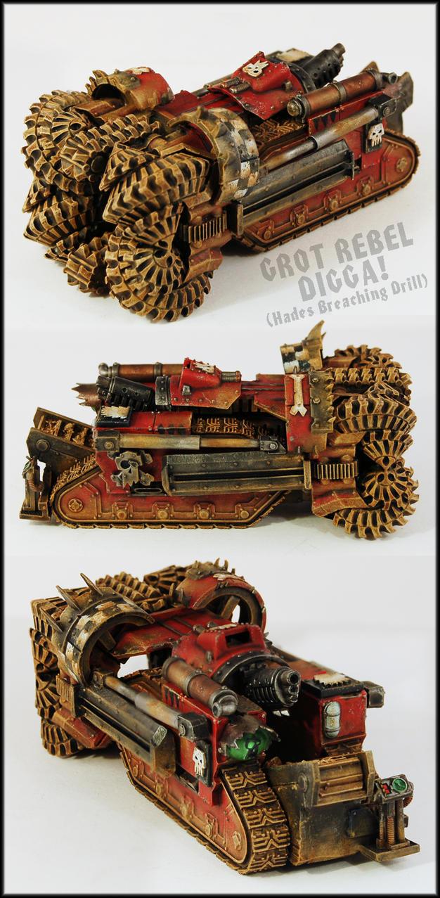 Grot Rebel Digga by Proiteus