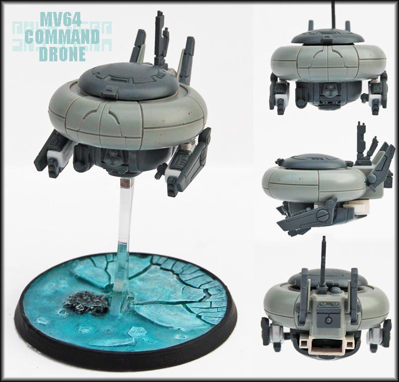 MV64 Command Drone UP by Proiteus