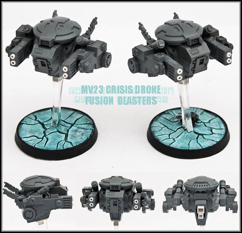 MV23 Crisis Drones Fusion Blasters UP by Proiteus