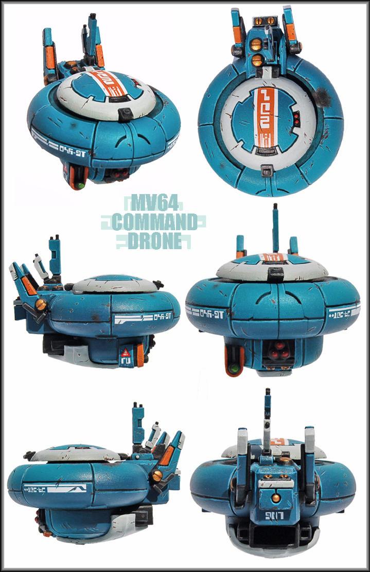 MV64 Tau Command Drone by Proiteus