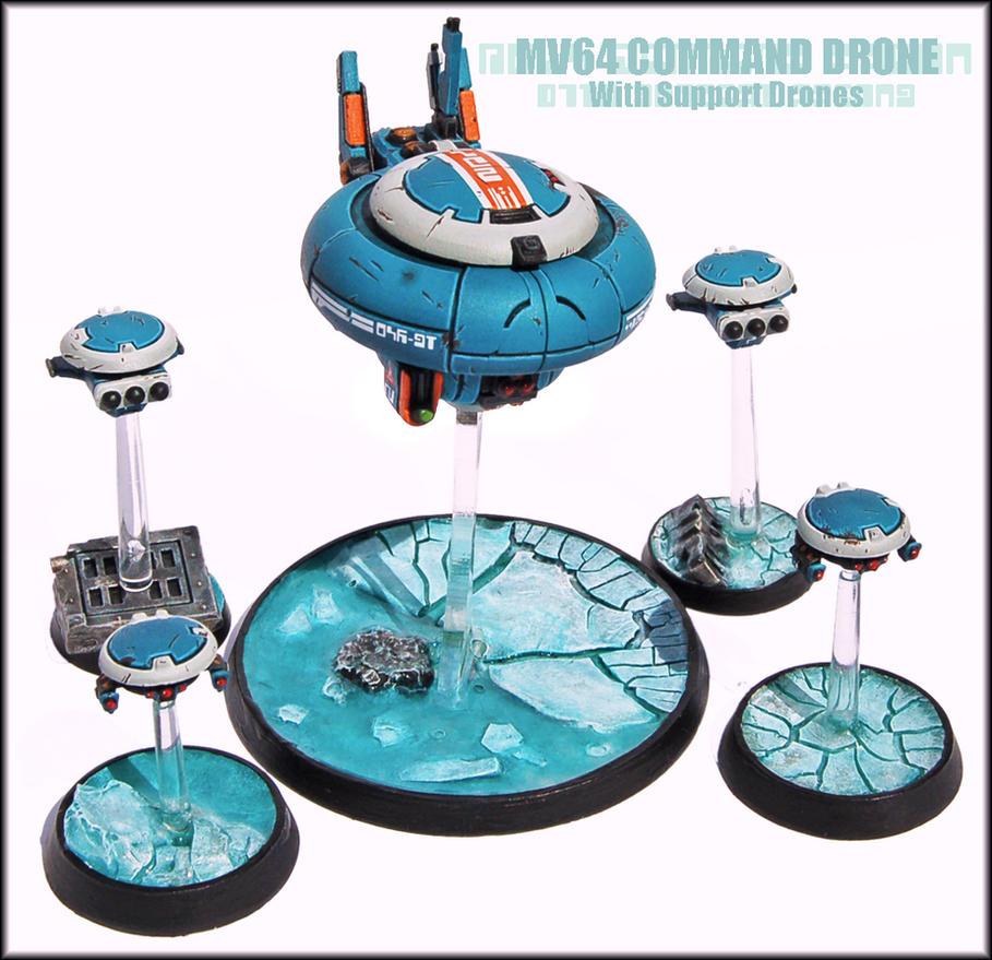 Drone Command Squadron by Proiteus
