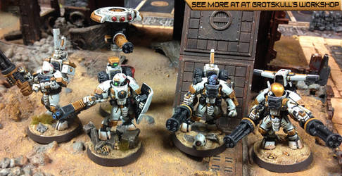 Tau Shas'lu'kar Commandos by Proiteus