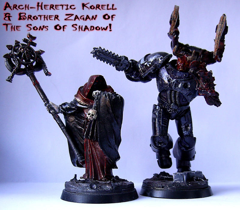 Korell and Zagan 40K Models by Proiteus