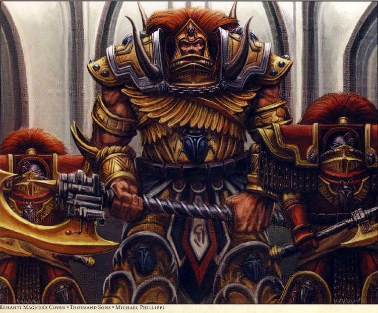 Thousand Sons Pre Heresy Art