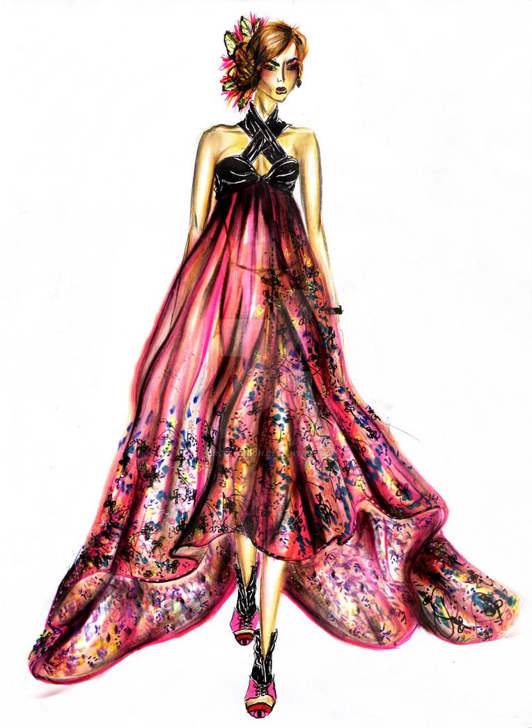 Summer Dress Design By Serge Sergefashion