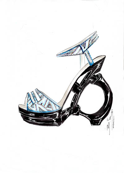 shoe design new collection by sergefashion