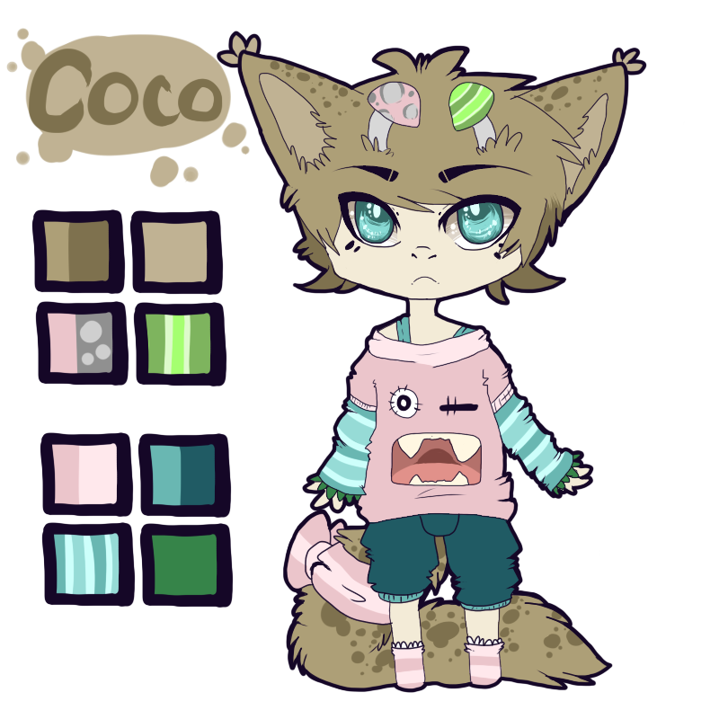 : CoCo : - Reference Sheet by Homohelvetti