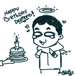 HAPPY BIRTHDAY DESMOND by MikuLance382