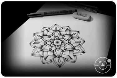 Mandala by sparc666
