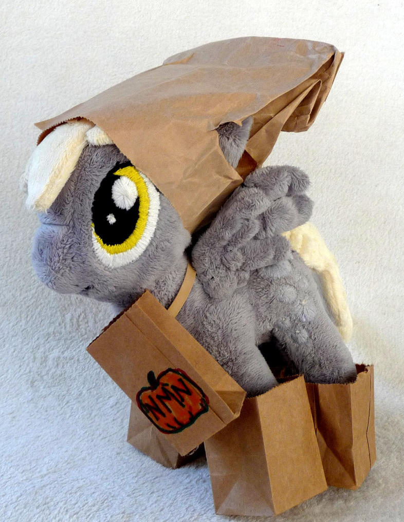 Derpy: NMN Paper Bag Wizard costume by iSmartMan
