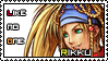 Rikku X2 stamp by TheNightMaster