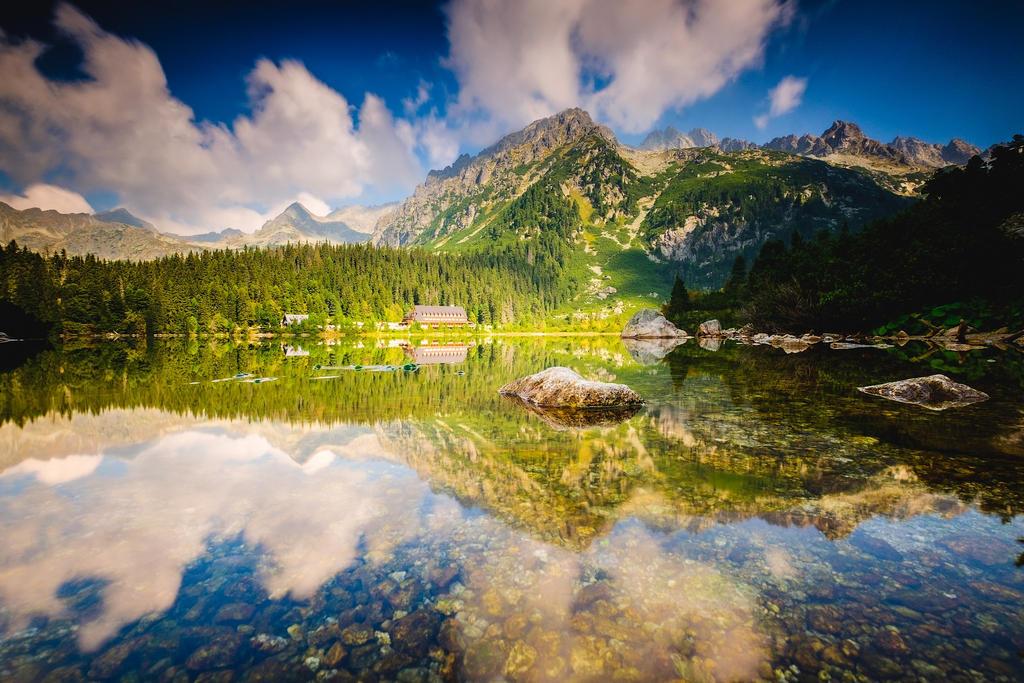 Mountain Lake - Popradske Lake by DjLuke9